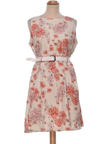 Dress woman APRICOT UK 14 (L) summer #33856_1