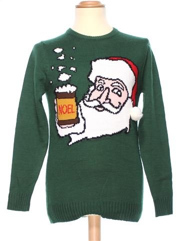 Man Xmas jumper man CEDAR WOOD STATE XS winter #36569_1