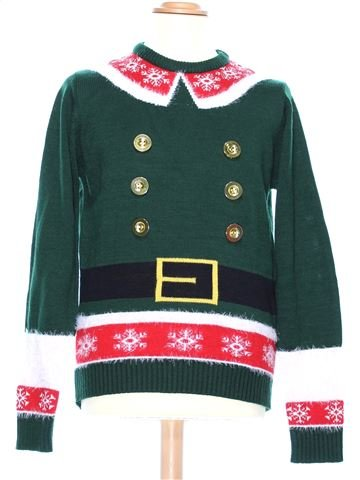 Man Xmas jumper man CEDAR WOOD STATE S winter #36949_1
