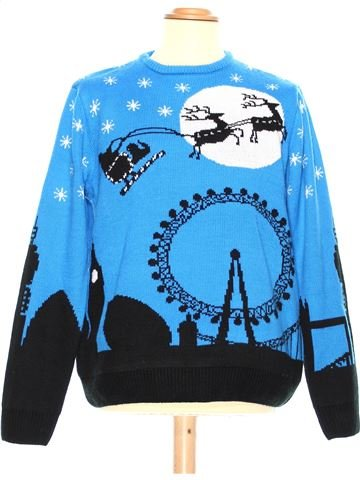 Man Xmas jumper man CEDAR WOOD STATE L winter #36994_1