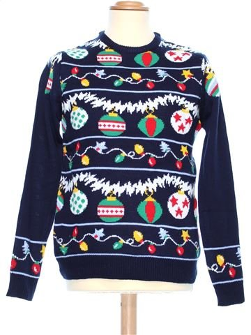 Man Xmas jumper man CEDAR WOOD STATE XS winter #37022_1