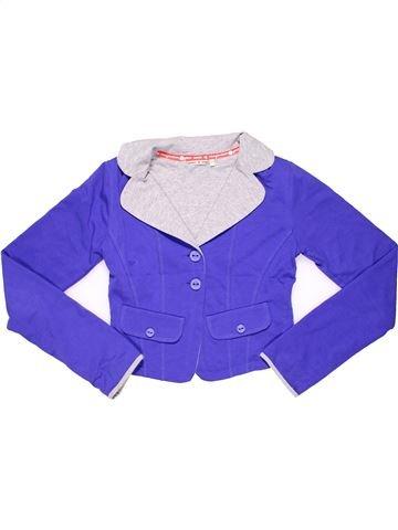 Jacket girl NONO purple 10 years winter #3989_1