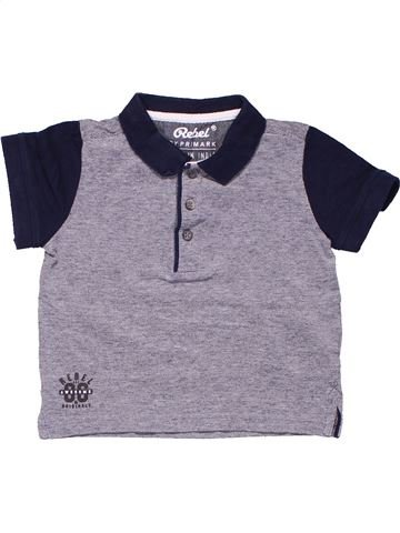 Short sleeve polo shirt boy PRIMARK gray 2 years summer #4076_1