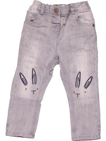 Trouser boy NEXT gray 12 months winter #4393_1