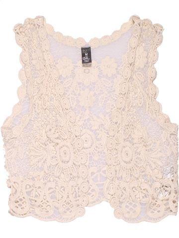 Vest girl ZARA white 9 years summer #4435_1