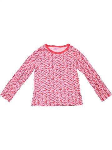 Long sleeve blouse girl CHEROKEE pink 3 years winter #4511_1