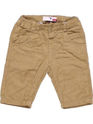 Trouser unisex NEWBORN brown 3 months winter #4626_1