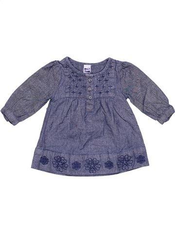 Dress girl M&CO blue 3 months winter #5007_1