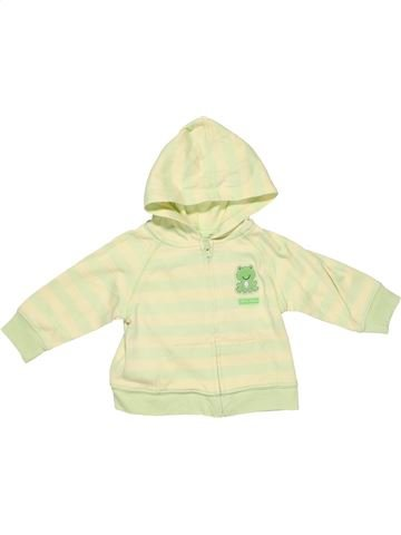 Sweatshirt unisex NO BRAND green 6 months winter #5348_1