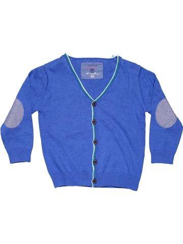 Jumper boy ZARA blue 4 years winter #5406_1