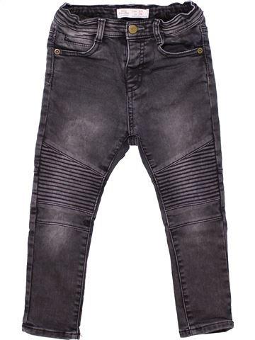 Trouser unisex ZARA gray 3 years winter #5614_1