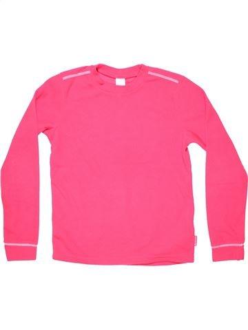 Long sleeve blouse girl OXYLANE pink 12 years winter #5707_1