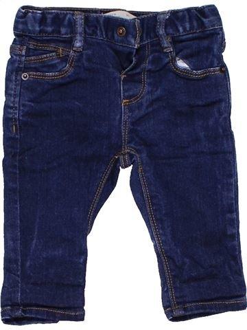 Jeans boy ZARA blue 6 months winter #599_1