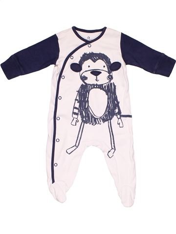 Long jumpsuit unisex NEXT BABY white 3 months winter #6664_1