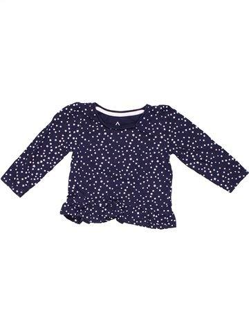 Tunic girl YOUNG DIMENSION blue 18 months summer #675_1