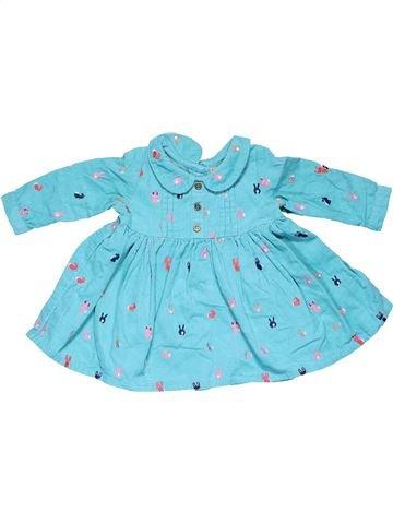 Dress girl NEXT blue 6 months winter #7625_1