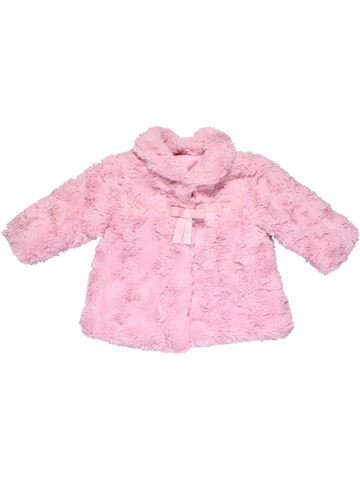 Coat girl GEORGE pink 6 months winter #7686_1