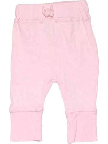 Leggings girl GEORGE pink 1 month winter #7699_1