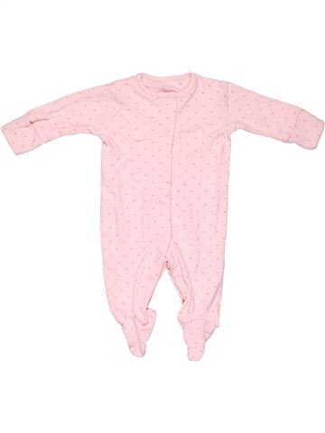 Long jumpsuit girl NEXT BABY pink 1 month winter #8339_1