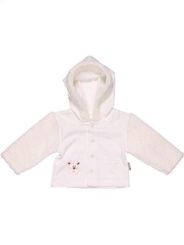 Sweatshirt unisex NO BRAND white 1 month winter #8555_1