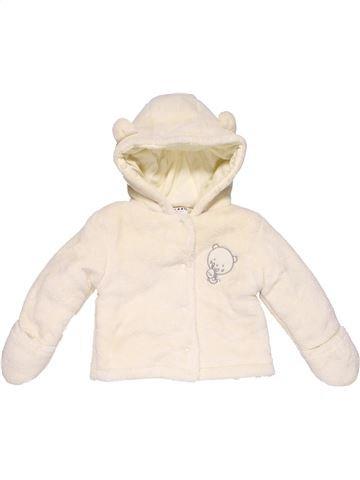 Parka girl COCOON white 9 months winter #8590_1