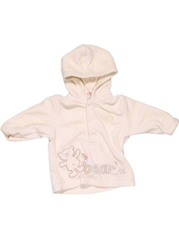 Sweatshirt unisex LITTLE BUNDLE white 1 month winter #8618_1