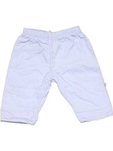 Trouser boy MARKS & SPENCER white 1 month winter #8789_1