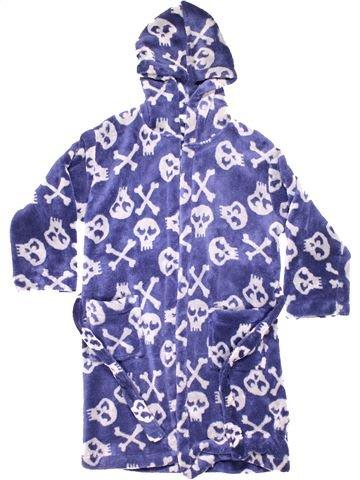 Dressing gown boy JOHN LEWIS purple 9 years winter #8942_1