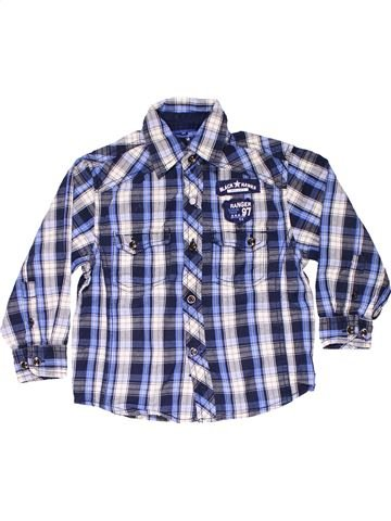 Long sleeve shirt boy OREGON blue 4 years winter #9085_1