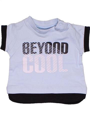 c6f542574 Short sleeve T-shirt boy NUTMEG white 1 month summer #91159_1