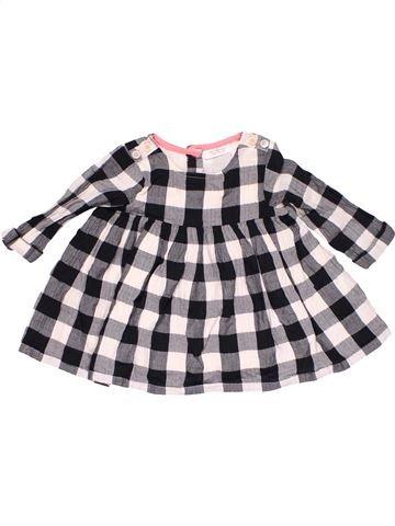 Dress girl NEXT BABY gray 3 months winter #9258_1