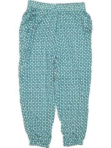 Trouser girl L.O.G.G. blue 8 years summer #9339_1
