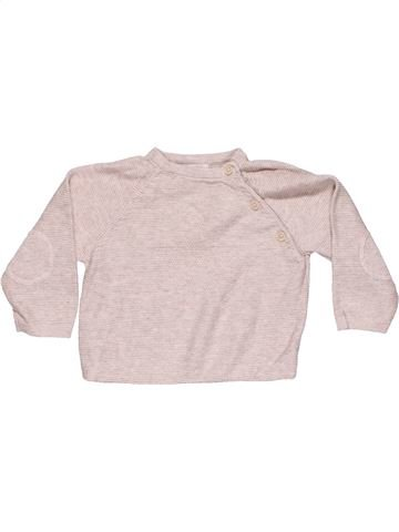 Long sleeve polo shirt unisex MAMAS & PAPAS purple 6 months winter #9528_1