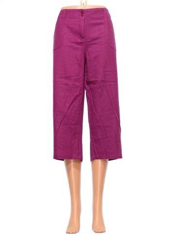 Cropped Trouser woman MIA MODA UK 16 (L) summer #9536_1